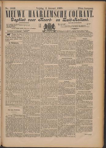 Nieuwe Haarlemsche Courant 1905-01-06
