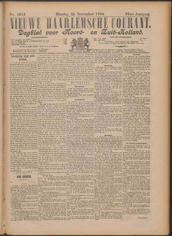 Nieuwe Haarlemsche Courant 1904-11-22
