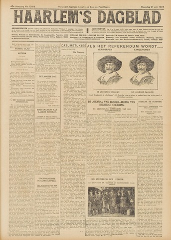 Haarlem's Dagblad 1926-06-21