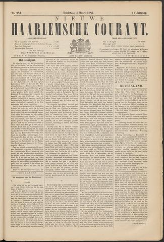 Nieuwe Haarlemsche Courant 1886-03-04