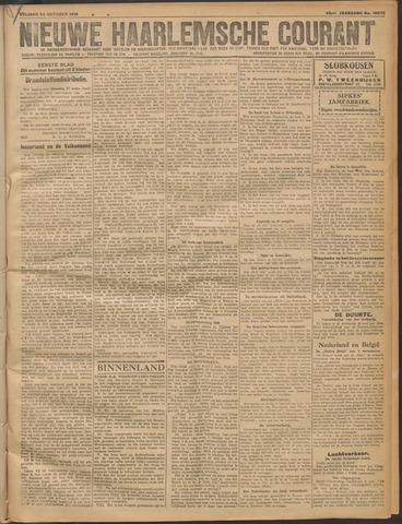 Nieuwe Haarlemsche Courant 1919-10-24