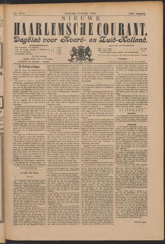 Nieuwe Haarlemsche Courant 1899-10-19