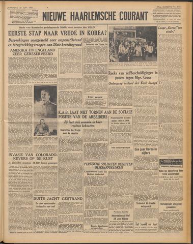 Nieuwe Haarlemsche Courant 1951-06-25