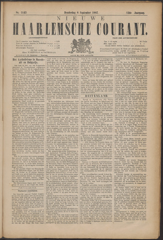 Nieuwe Haarlemsche Courant 1887-09-08