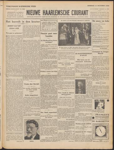 Nieuwe Haarlemsche Courant 1932-10-11