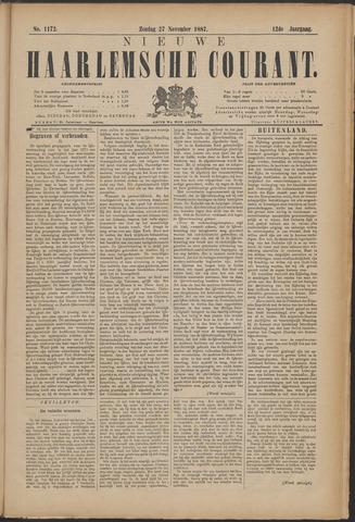 Nieuwe Haarlemsche Courant 1887-11-27