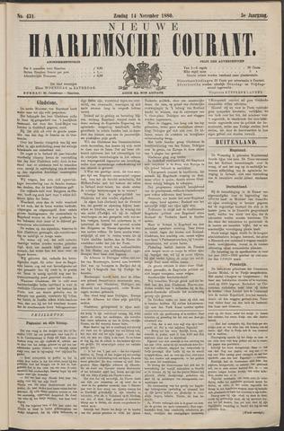 Nieuwe Haarlemsche Courant 1880-11-14