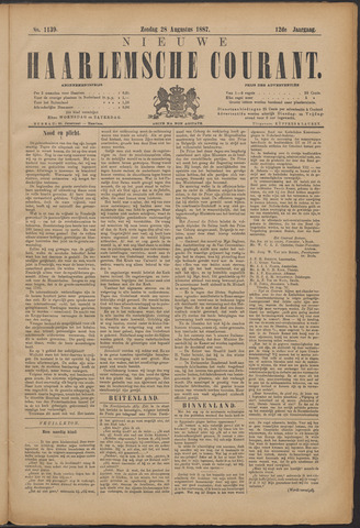 Nieuwe Haarlemsche Courant 1887-08-28