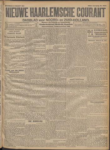 Nieuwe Haarlemsche Courant 1915-03-15