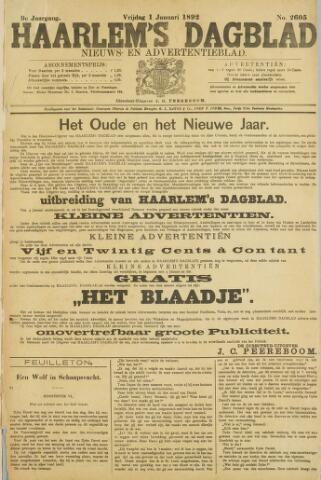 Haarlem's Dagblad 1892