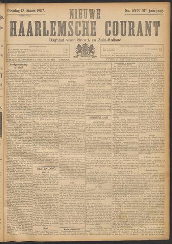 Nieuwe Haarlemsche Courant 1907-03-12