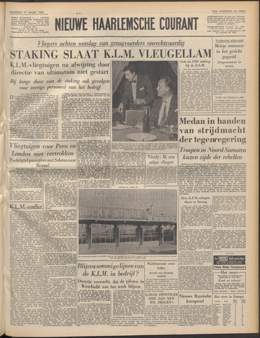 Nieuwe Haarlemsche Courant 1958-03-17