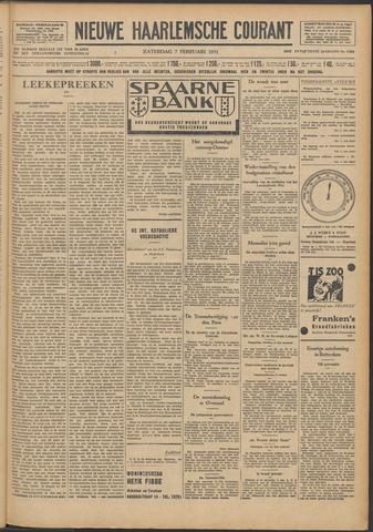 Nieuwe Haarlemsche Courant 1931-02-07