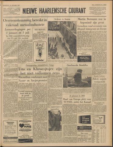 Nieuwe Haarlemsche Courant 1960-09-29