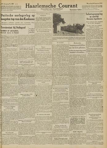 Haarlemsche Courant 1942-08-26