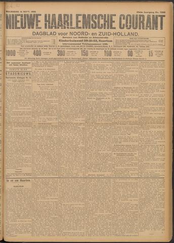 Nieuwe Haarlemsche Courant 1910-09-14