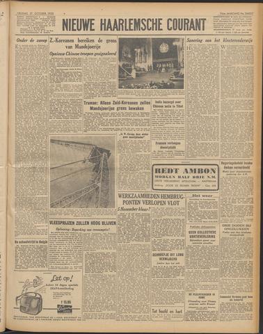 Nieuwe Haarlemsche Courant 1950-10-27