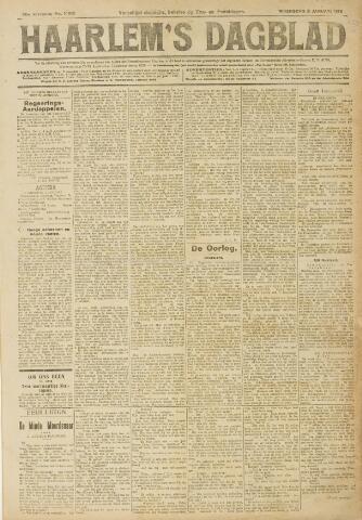 Haarlem's Dagblad 1918