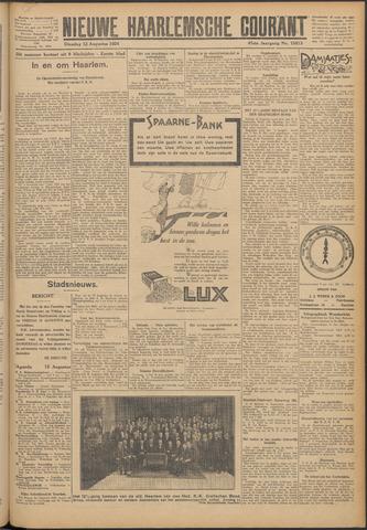 Nieuwe Haarlemsche Courant 1924-08-12