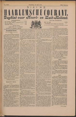 Nieuwe Haarlemsche Courant 1898-07-21