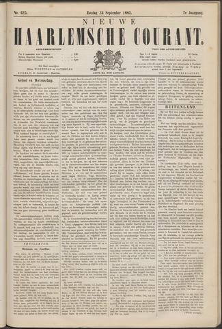 Nieuwe Haarlemsche Courant 1882-09-24