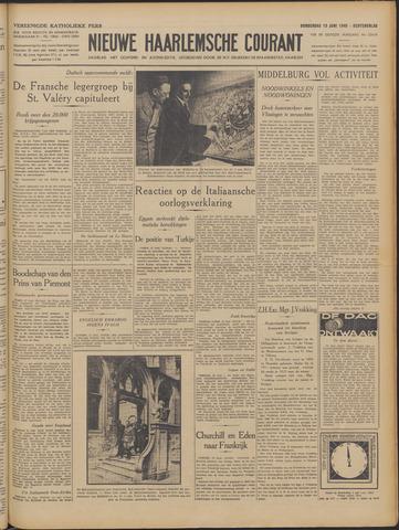 Nieuwe Haarlemsche Courant 1940-06-13