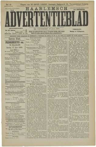Haarlemsch Advertentieblad 1900-06-16