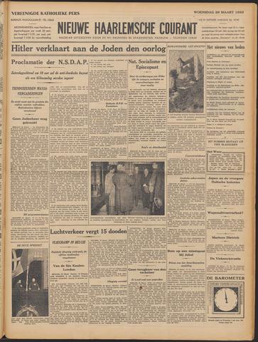 Nieuwe Haarlemsche Courant 1933-03-29