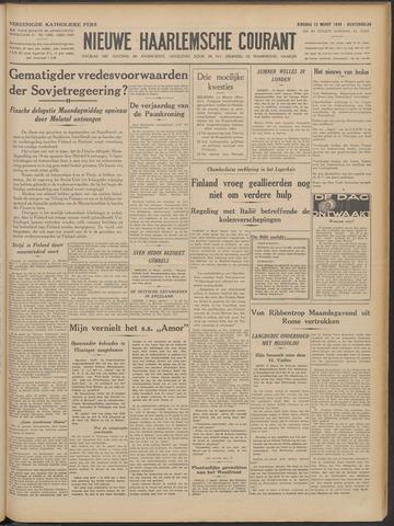 Nieuwe Haarlemsche Courant 1940-03-12