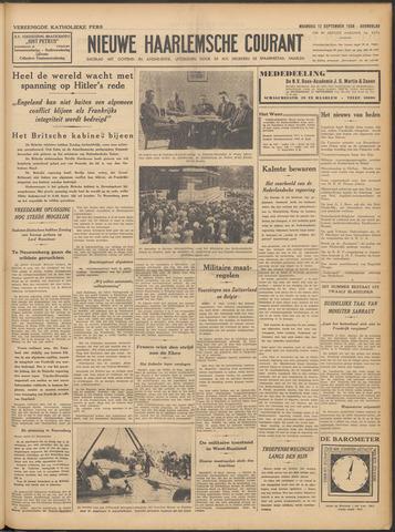 Nieuwe Haarlemsche Courant 1938-09-12