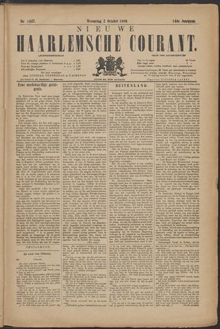 Nieuwe Haarlemsche Courant 1889-10-02
