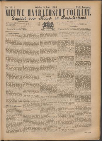 Nieuwe Haarlemsche Courant 1903-06-05