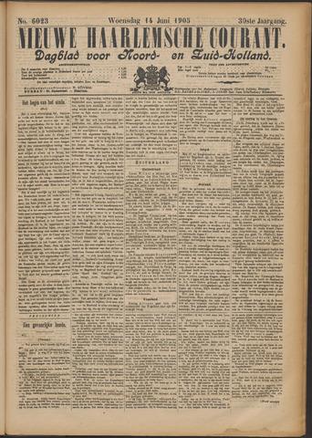 Nieuwe Haarlemsche Courant 1905-06-14