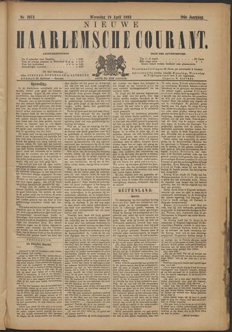 Nieuwe Haarlemsche Courant 1893-04-19
