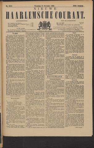 Nieuwe Haarlemsche Courant 1895-11-13