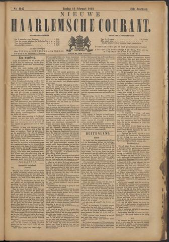 Nieuwe Haarlemsche Courant 1893-02-12