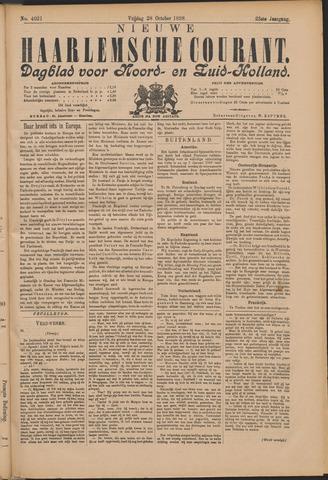 Nieuwe Haarlemsche Courant 1898-10-28