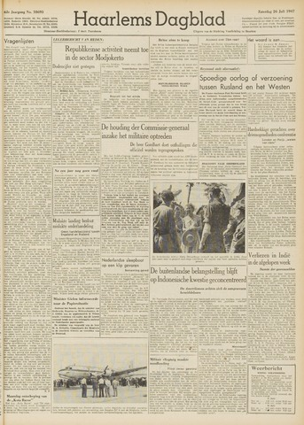 Haarlem's Dagblad 1947-07-26