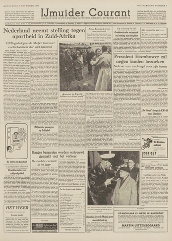 IJmuider Courant 1959-11-05