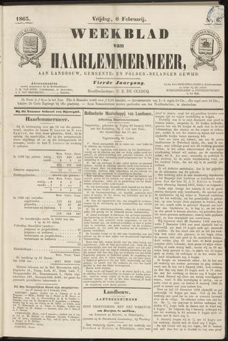 Weekblad van Haarlemmermeer 1863-02-06