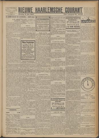 Nieuwe Haarlemsche Courant 1923-05-15