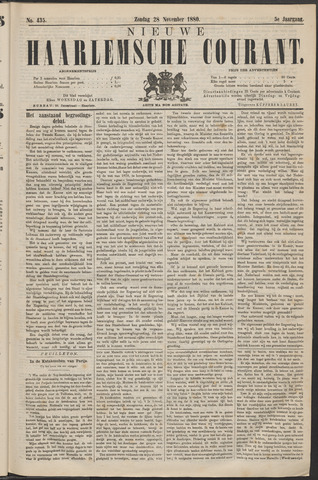 Nieuwe Haarlemsche Courant 1880-11-28