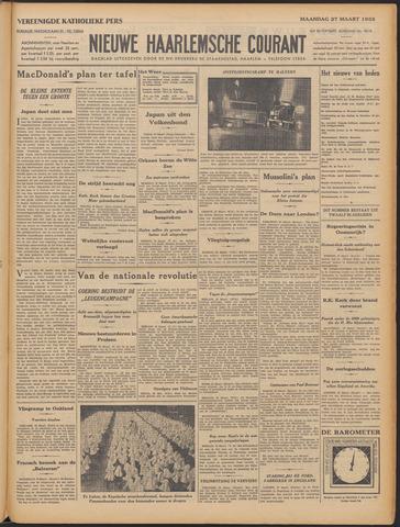 Nieuwe Haarlemsche Courant 1933-03-27