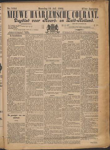Nieuwe Haarlemsche Courant 1902-07-14