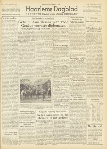 Haarlem's Dagblad 1954-04-21