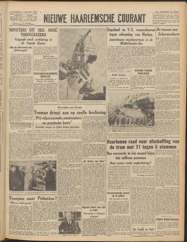 Nieuwe Haarlemsche Courant 1948-01-08