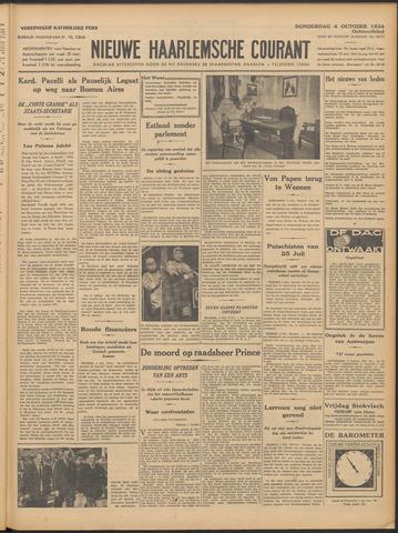 Nieuwe Haarlemsche Courant 1934-10-04