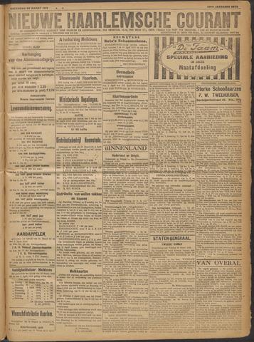 Nieuwe Haarlemsche Courant 1919-03-29