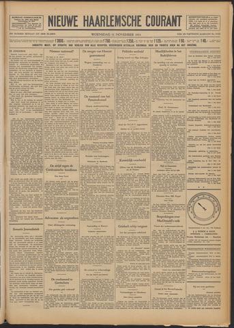 Nieuwe Haarlemsche Courant 1931-11-11