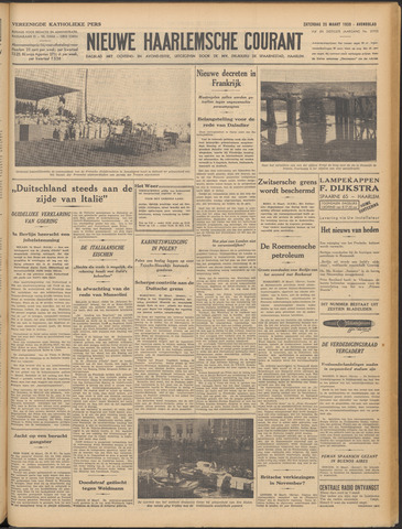 Nieuwe Haarlemsche Courant 1939-03-25